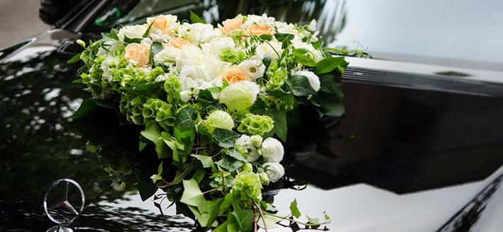 Hochzeitsdekorationen von Gärtnerei Manz