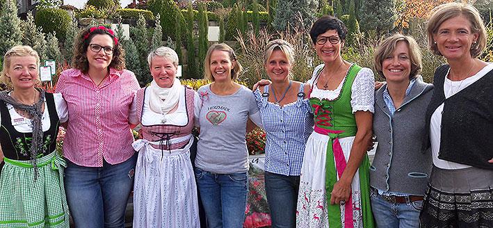 Team der Gärtnerei Manz