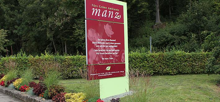 Gärtnerei Manz in Neckartenzlingen