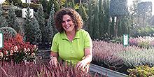 Tanja Frank Verkauf Pflanzenmarkt