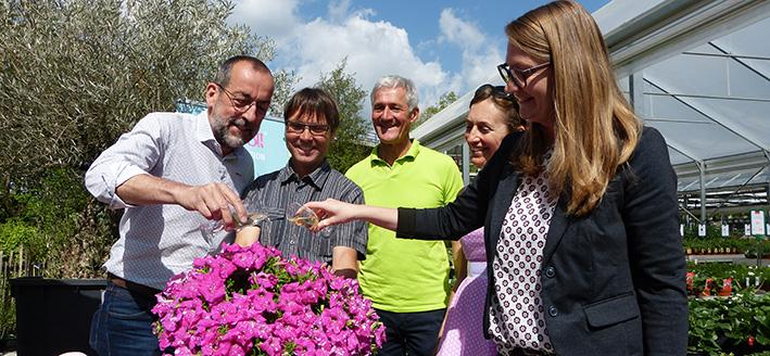Gärtnerei Manz Pflanzentaufe