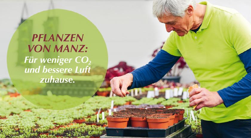 Nachhaltigkeit bei Gärtnerei Manz Neckartenzlingen